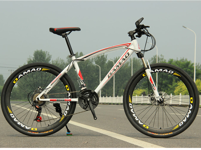 26 Inch 21 Speed Dual Disc Brakes Mountain Bike Mtb Downhill Road