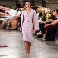 Couture Cuello En V Madre De Los Vestidos de Novia 2017 Vestido Formal Elegante Longitud de La Rodilla Vestido De Madrina de La Madre Del Novio Vestidos