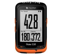 Bryton Rider 530 GPS Cycling Computer Enabled Bicycle/Bike computer and Bryton mount Waterproof wireless speedometer