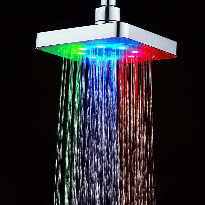 Lighted Shower Heads