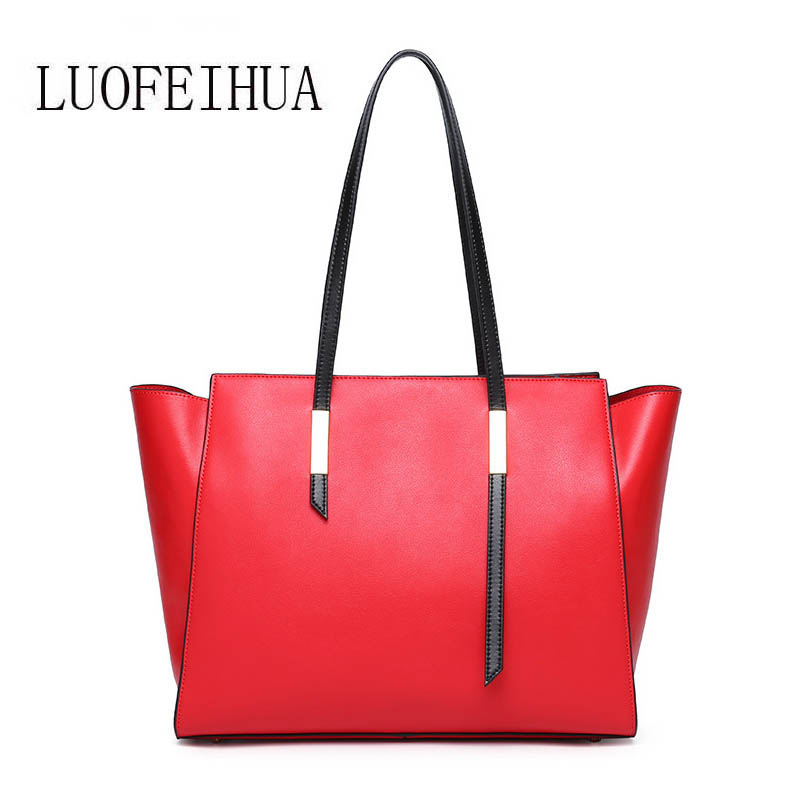 LUOFEIHUA  2018 Europe and the United States new large-capacity shoulder bag Leather handbag Womens Messenger BagLUOFEIHUA  2018 Europe and the United States new large-capacity shoulder bag Leather handbag Womens Messenger Bag