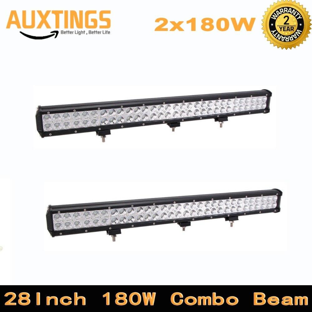 High lumen 14400 18000LMs 180w offroad led work light bar 28 INCH COMBO Beam For Work