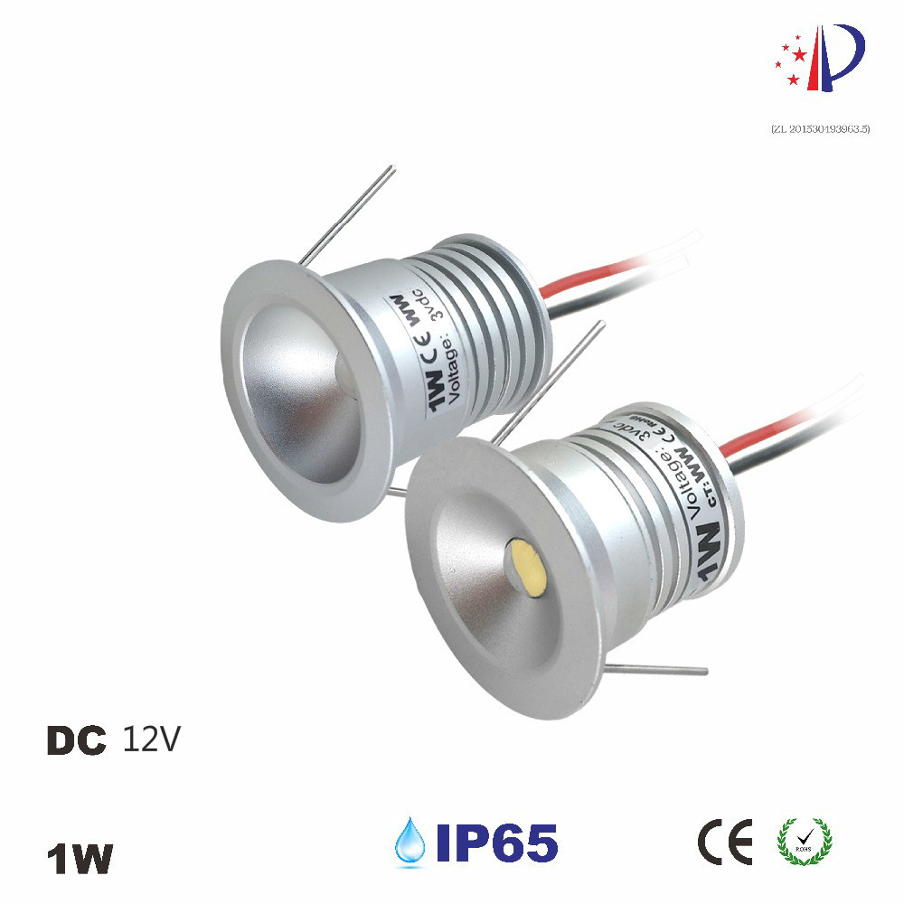 Led Spot Us 27 83 29 Off 1w Led Spot Light 25mm Cutting Mini Recessed Downlight Dc12v Cabinet Lighting 60d 120d Diy Decoration Lamp 9pcs In Led Spotlights