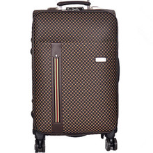 BOLO BRAVE 20 24″ PU Plaid trolley suitcase luggage spinner wheels Pull Rod trunk men traveller case boarding bag customs lock