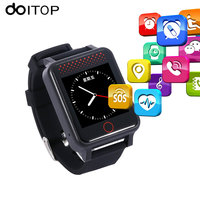 DOITOP GPS WIFI Child SmartWatch Touch Screen Tracker For Elder Kids Anti Lost Real Time Location