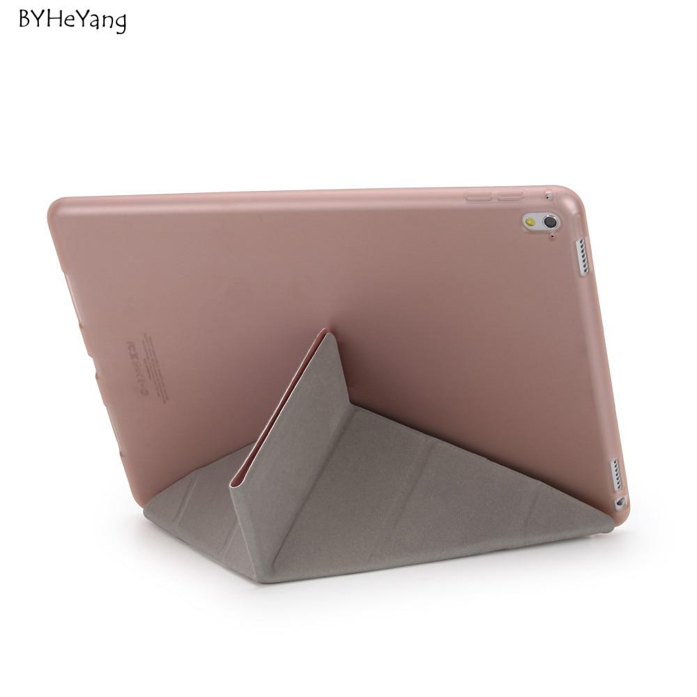BYHeYang Durumda Yeni iPad Pro 10.5 için 2017 PU Akıllı Kapak - Tablet Aksesuarları - Fotoğraf 6