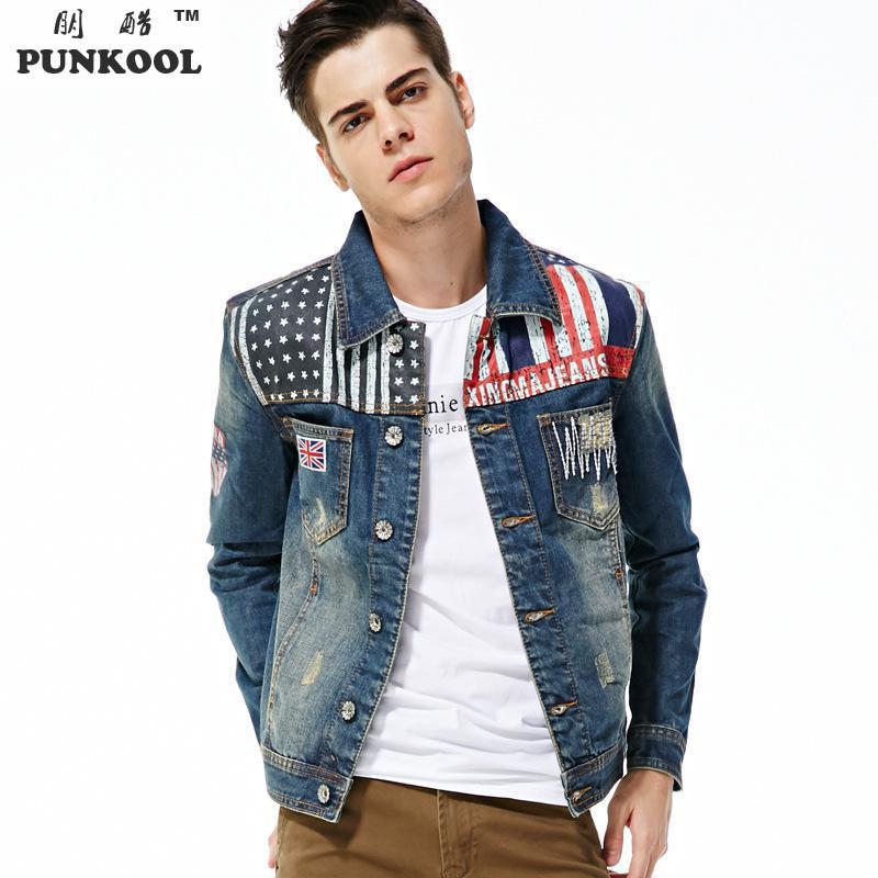 Popular American Flag Jackets for Men-Buy Cheap American Flag ...
