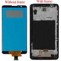 For LG Stylus 2 LS775 K520 K540 K520DY LCD Display Monitor Screen Panel + Touch Screen Digitizer Panel Sensor Assembly Frame