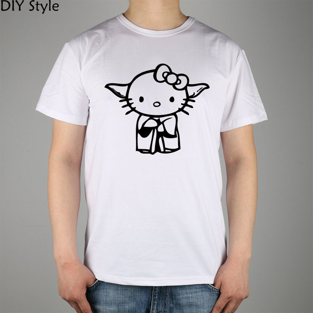 Hello kitty yoda disguise decal vinyl sticker from the movie star wars t shirt top