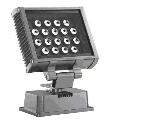 LED flood light;18*1W; with DMX512 controlled;IP65; various color available
