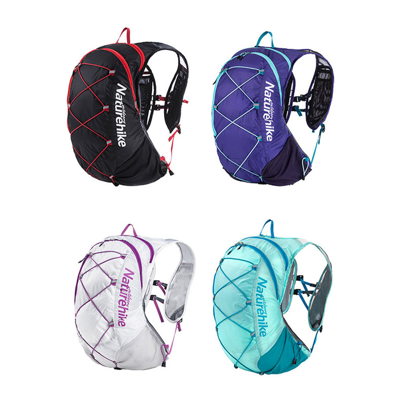 Naturehike Outdoor Hydration Pack Running Backpack Cycling Bag Hiking Lightweight Running Bags цена