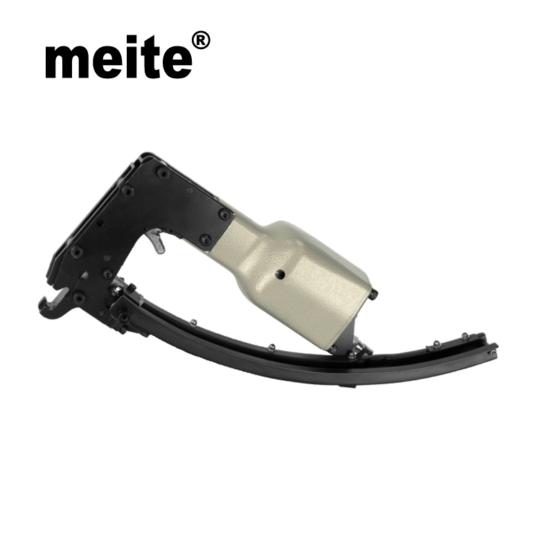 Meite new design M66B spring tools mattress pneumatic nailer clips tool gun sofa spring Jun.14 Update