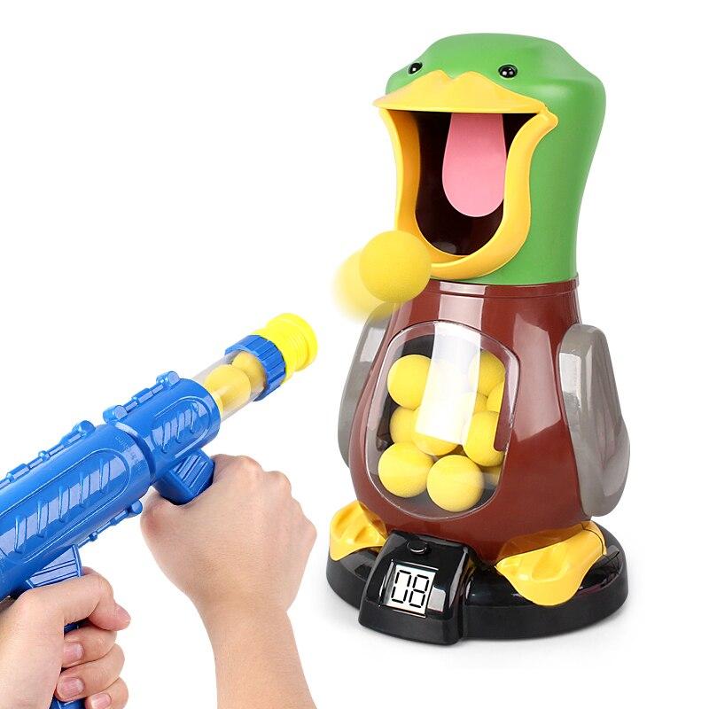 Enfants jouet pistolet garçon peut lancer balle douce bombe bébé pour combattre puzzle simulation jouets