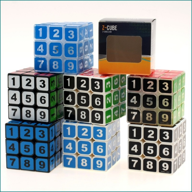 Toys & Hobbies Rctown 2nd Puzzle Speed Cubes Simple High Grade Speed Puzzle Cube Intellectual Development Smart Cube Toy Zk25 Numerous In Variety