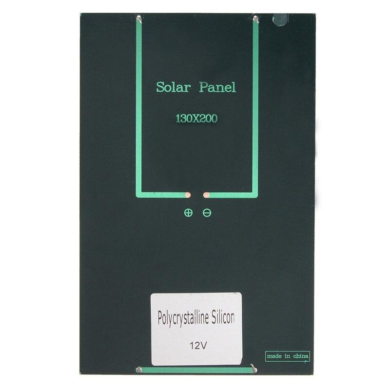 12V/18V 4.2W Polycrystalline Silicon Solar Panel Portable Solar Cells Charger DIY Solar Module System 200 *130*3 mm