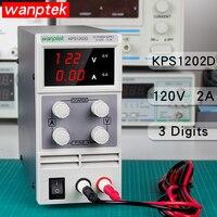 Регулируемый dc ПИТАНИЕ KPS1202D Variable120V 2A регулируется силовой модуль цифровое переключение лаборатории источник питания