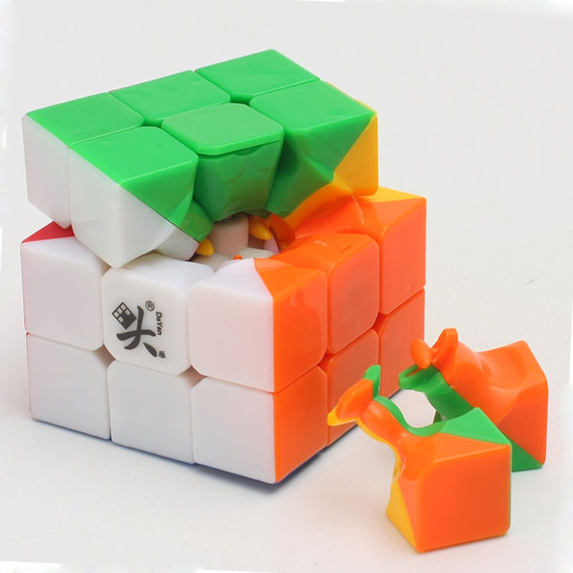 Promo Cheapest Magic Cube puzzle Dayan Guhong 2 V2 57mm 3x3x3 Cubing Speed  Puzzle Cubo Magico Kids Educational Toys 3