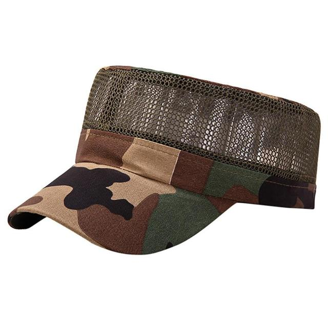 4cdea5d149e Trendzone 5 22 Fashion Women Outdoor Plain Vintage Army Military Cadet  Style Cap Hat Adjustable Free Shipping