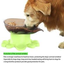 цена на Pet Bowl Protective Spine Supplies Food Bowl with Protection Pet Feeder Comedouro Pet Comedouro Cachorro