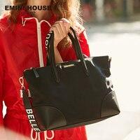EMINI HOUSE Letter Wide Strap Nylon Hobos Bag Luxury Handbags Women Bags Designer Crossbody Bags For Women Shoulder Bag Handbags