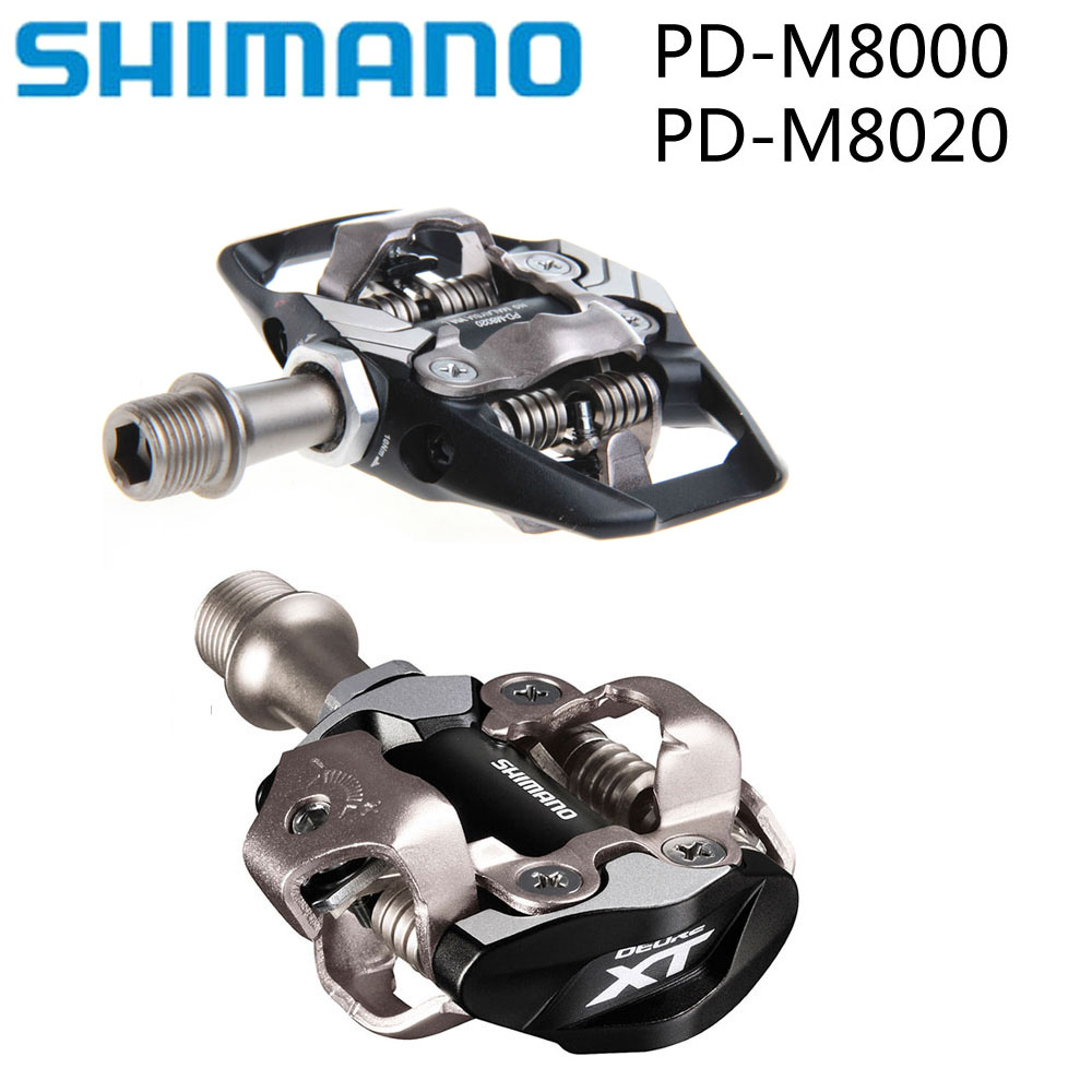 2019 Shimano XTPD M8000 M8020 SPD Self Locking Cycling Mountain MTB Bike Pedales Clip Components for