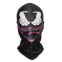 3D Venom Spiderman Masks Spider-Man Scary Balaclava Costume Halloween Overhead Mask Beast Airsoft outdoor Biker anonymous riding
