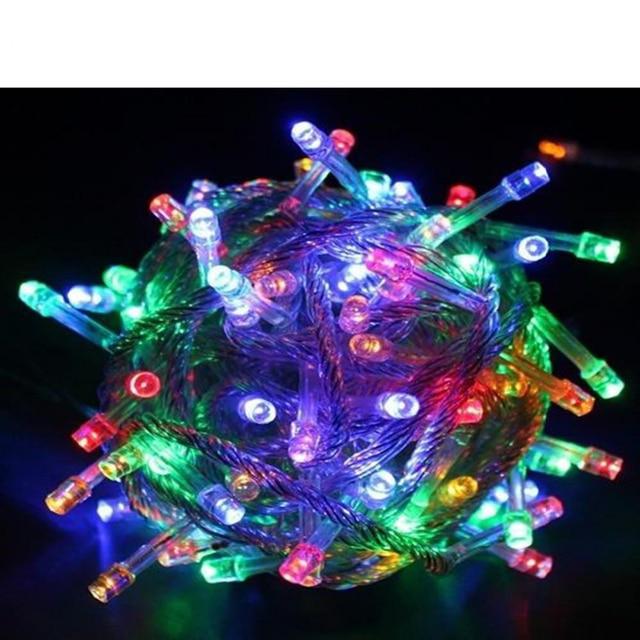 Us 3 61 Christmas Lighting Battery Operated Led Fairy Light 2m 20leds String Flexible Tape Lamp Outdoor Garden Light In Multi Colors In Lighting