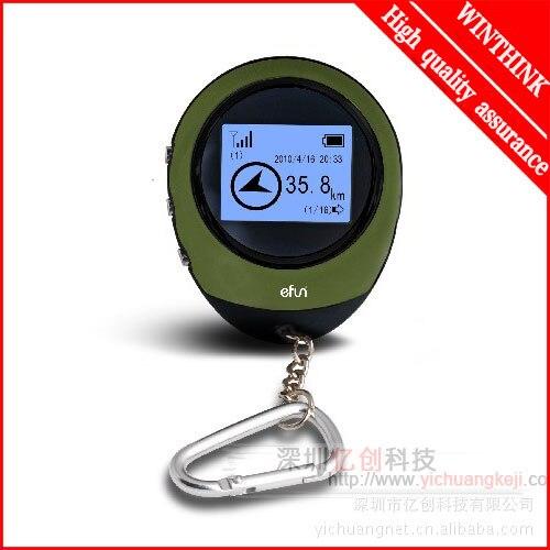 Mini Dispositivo de Rastreamento GPS Portátil Handheld Chaveiro Rastreador YX2810 Pathfinding Localizador Bússola para Desporto Ao Ar Livre e Viajar