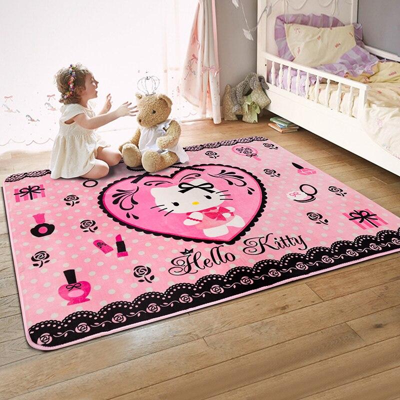 150x195cm o kitty carpets for children bedroom soft suede kids play  crawling floor mat living room. O Kitty Carpet   Carpet Vidalondon