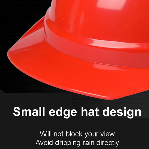 Safety Helmet Work Cap Breathable Hard Hat Security Labor Protection Construction Site Insulating Working Protective Helmets Red Karachi