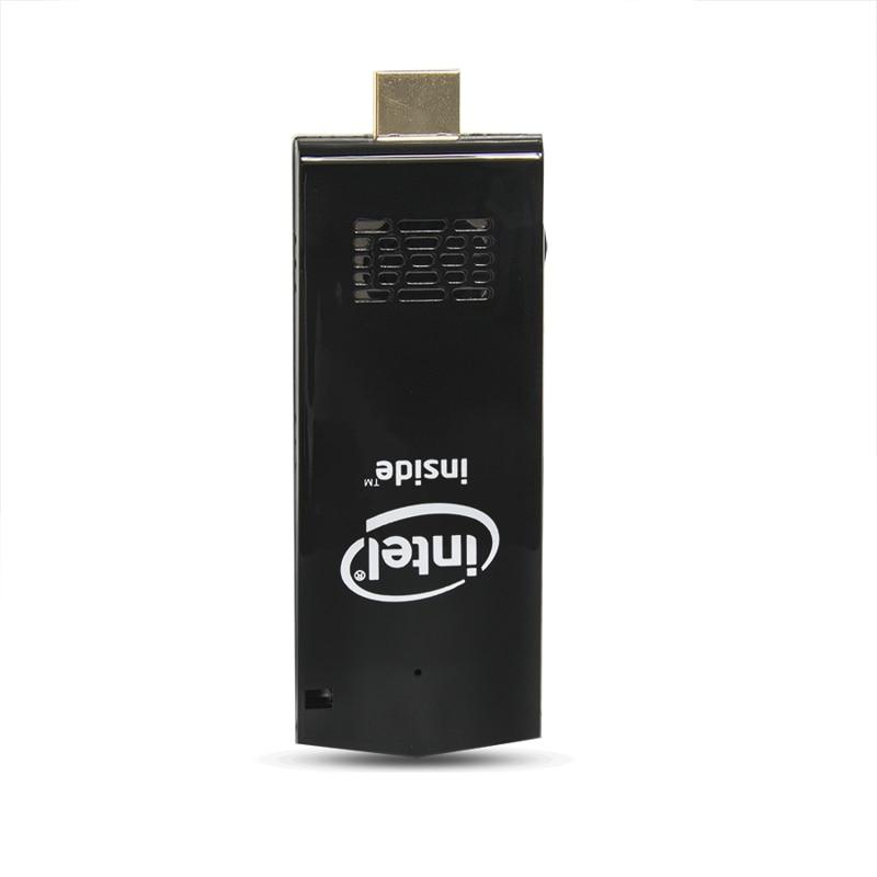Intel W5 pro мини ПК Компьютер палка с Windows 10 Atom Z8350 RAM 2 Гб eMMC 32 Гб Bluetooth 4,0 встроенный вентилятор