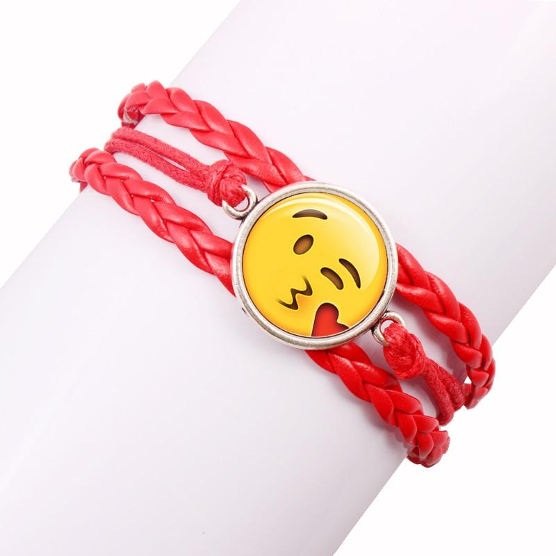 Sonstige Spielzeug-Artikel 5 Armband Emoji Kuss