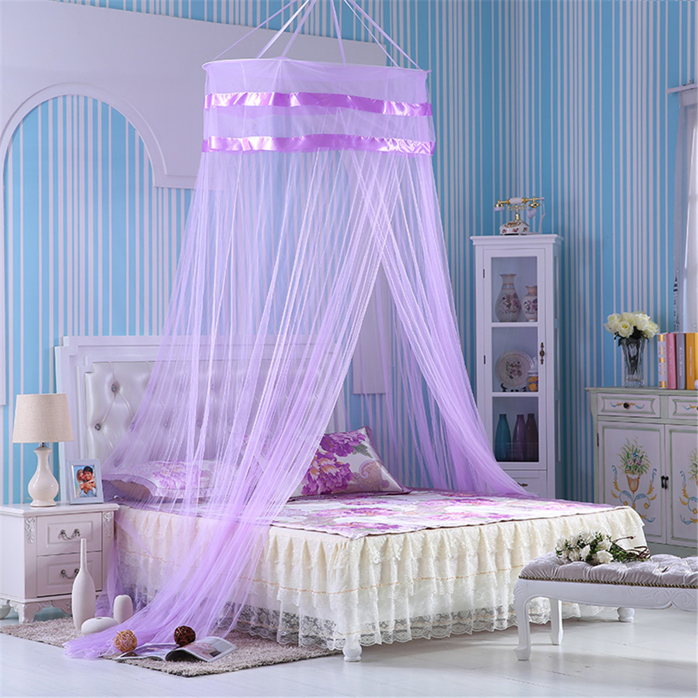 canopy purple bed promotion-shop for promotional canopy purple bed