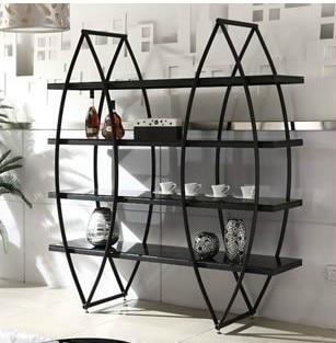 Continental hierro muebles de hierro forjado estante for Muebles de hierro forjado