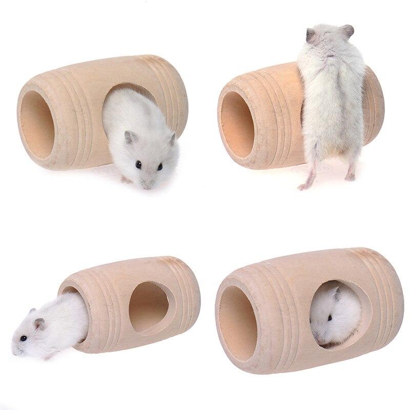 2016 최신 작은 동물 나무 침대 하우스 케이지 Molar - 애완 동물 제품