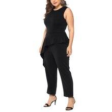 Plus Size Sleeveless Jumpsuits