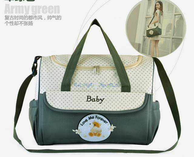 Us 18 5 Fashion Practical Diaper Bag Baby Diaper Bags Stroller Latest Design Limited Edition Personalized Diaper Bags Mummy Diaper Bag In Diaper
