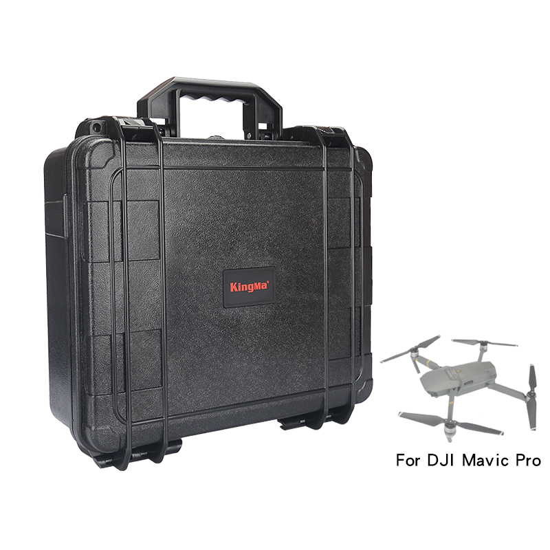 KingMa Hardshell Luggage Waterproof Anti-Shock Suitcase Strong Box for DJI Mavic Pro Quadcopter Storage Gimbal Portable Bag Case