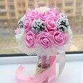 Красивые Невесты Свадебные Букеты Букет де mariage Ручной buque де noiva Бесплатная Доставка 1 Шт.