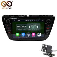 8″ WiFi Octa Core PX5 4GB RAM Android 6 DAB 4G 32GB ROM Car DVD Multimedia Player Radio Stereo For Suzuki S-Cross SX4 2014-2017
