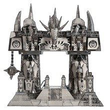 Dark Portal Fun 3d Metal Diy Miniature Model Kits Puzzle Toys Children Educational Boy Splicing Science Hobby