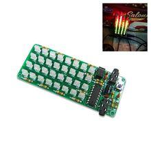 1セットASD 84レベルインジケータアクセサリー周波数スペクトルキットオーディオ音楽音声diyキット電子敏感ツール
