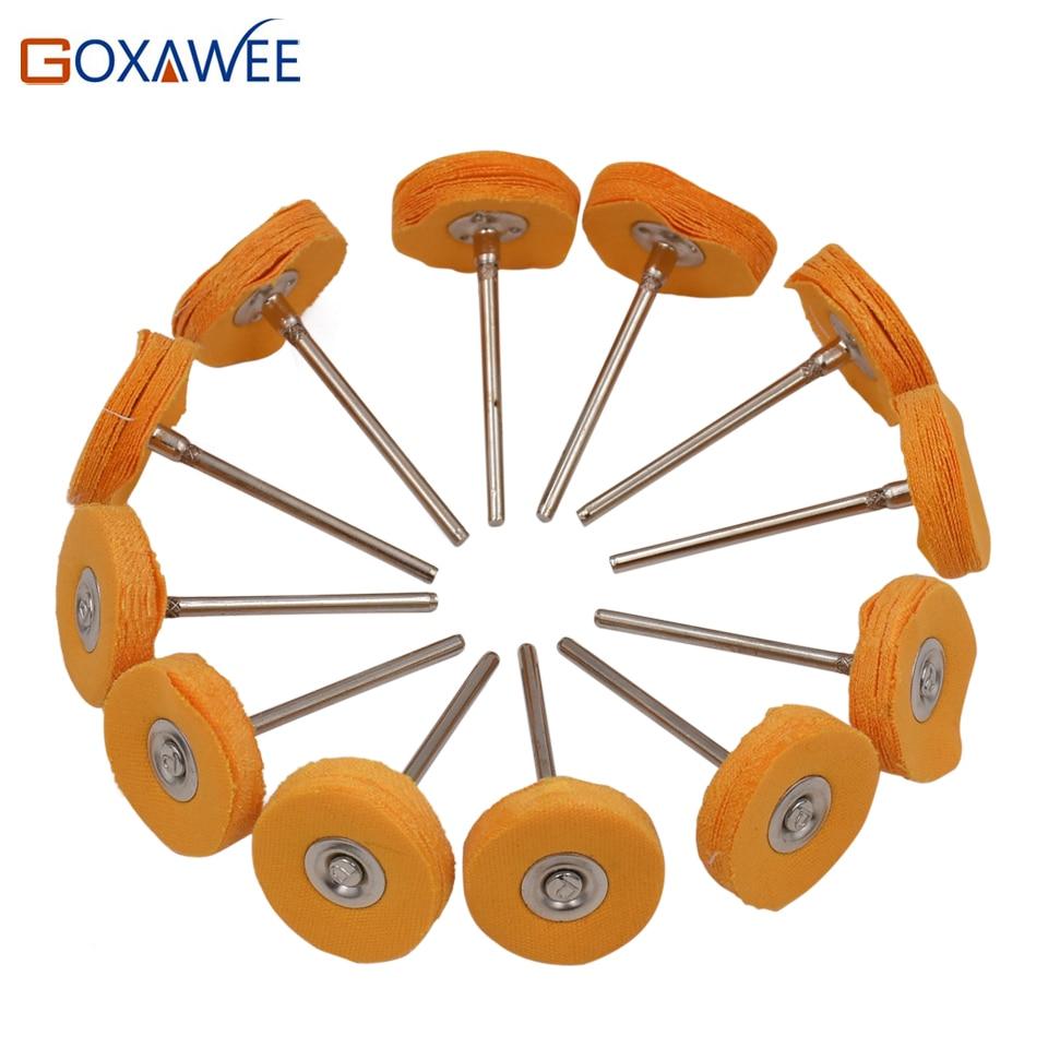 GOXAWEE 10 pezzi Dremel Accessori Lucidatura Ruote Lucidatura - Utensili abrasivi - Fotografia 3
