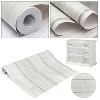 10m Wood Grain Peel Stick Contact Paper Self Adhesive Wall Sticker Furniture Wall Film Papers For