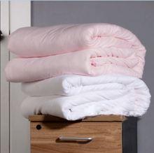 Pure 100% Natural seda consolador llenado filamento edredón de seda 3 kg a 4 kg Rey Queen size edredón de seda personalizar