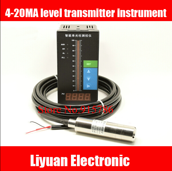 4 20MA level transmitter instrument Fire Services water level display instrument beam digital display control instrument