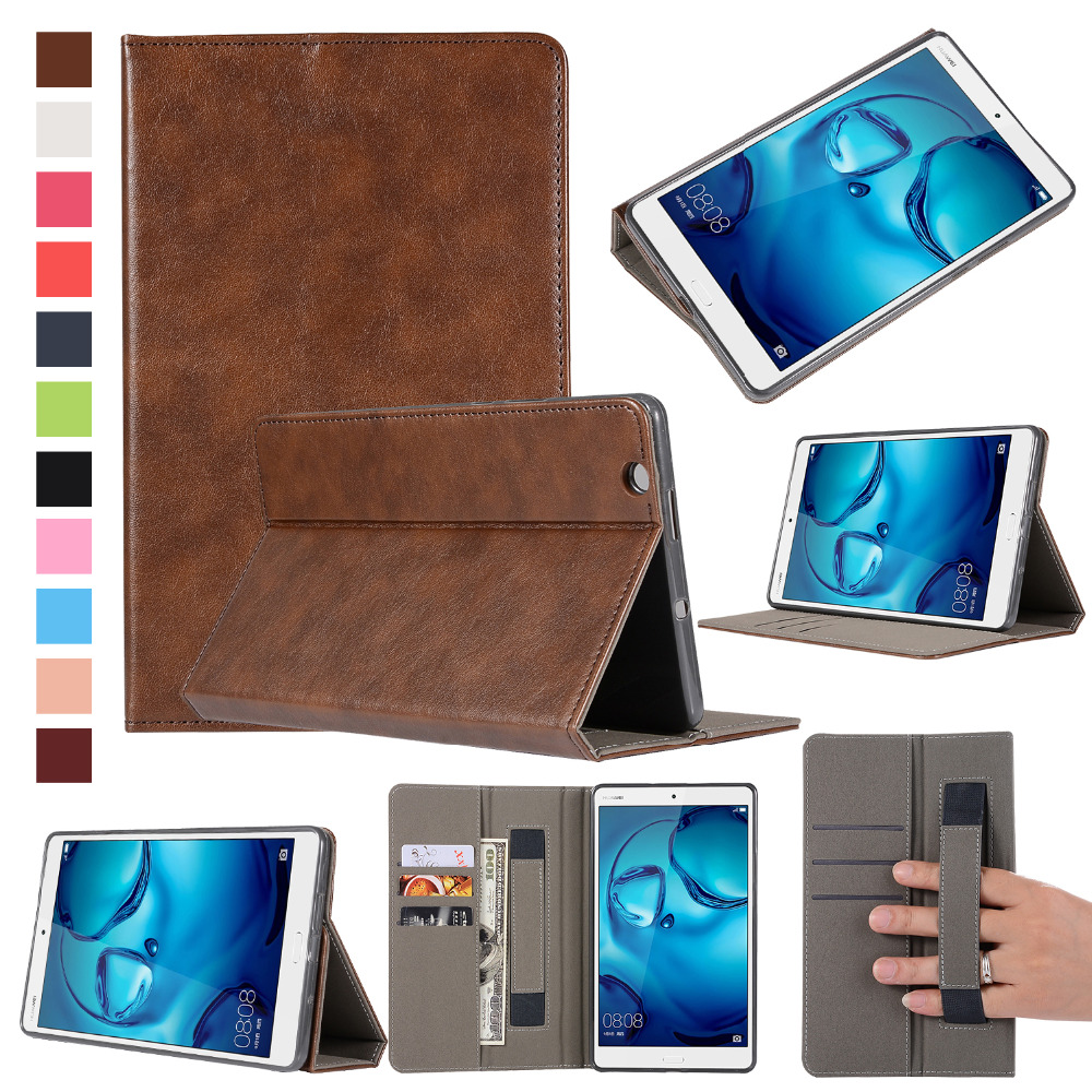 For Huawei Mediapad M3 Tablet Case For Huawei Mediapad M3 8.4'' Card Holder Leather Cover Stand Holder Fold Shell+Stylus pu leather cover for huawei m3 lite 8 0 stand case with stylus holder for huawei mediapad m3 lite 8 0 cpn al00 w09 tablet case