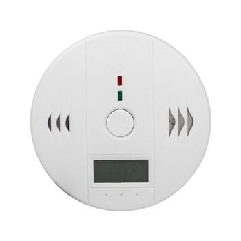 Home High Sensitive Poisoning Alarm Detector Security LCD Carbon Monoxide Detector Independent CO Gas Sensor 85dB Warning-up