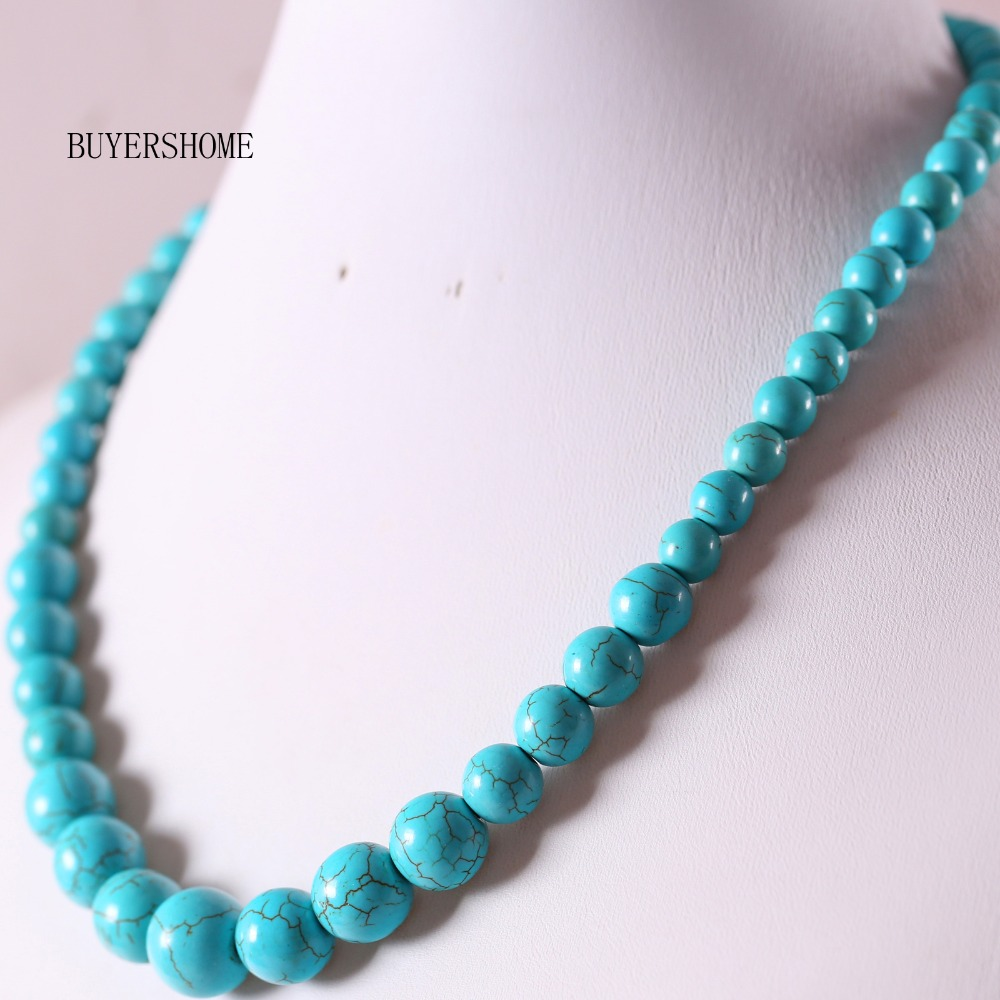 """TJC Silver Tone Coral Colour Bead Strand Necklace for Girls /& Women Size 46/"""""""