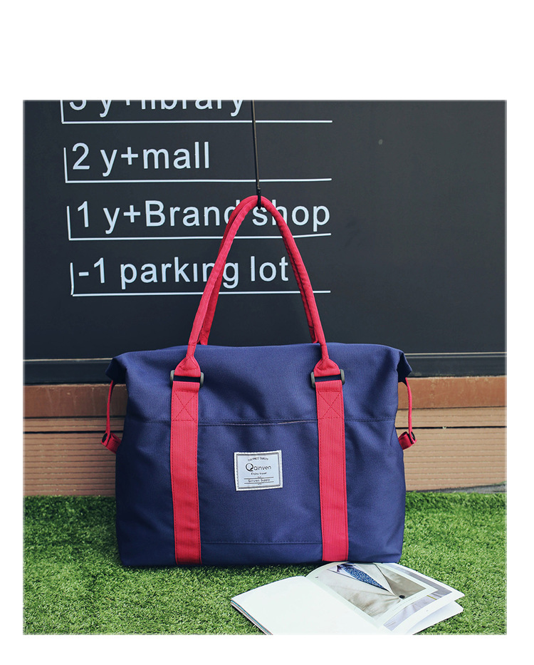 hot sale business Colourful travel tote bag high quality and large capacity waterproof handbags